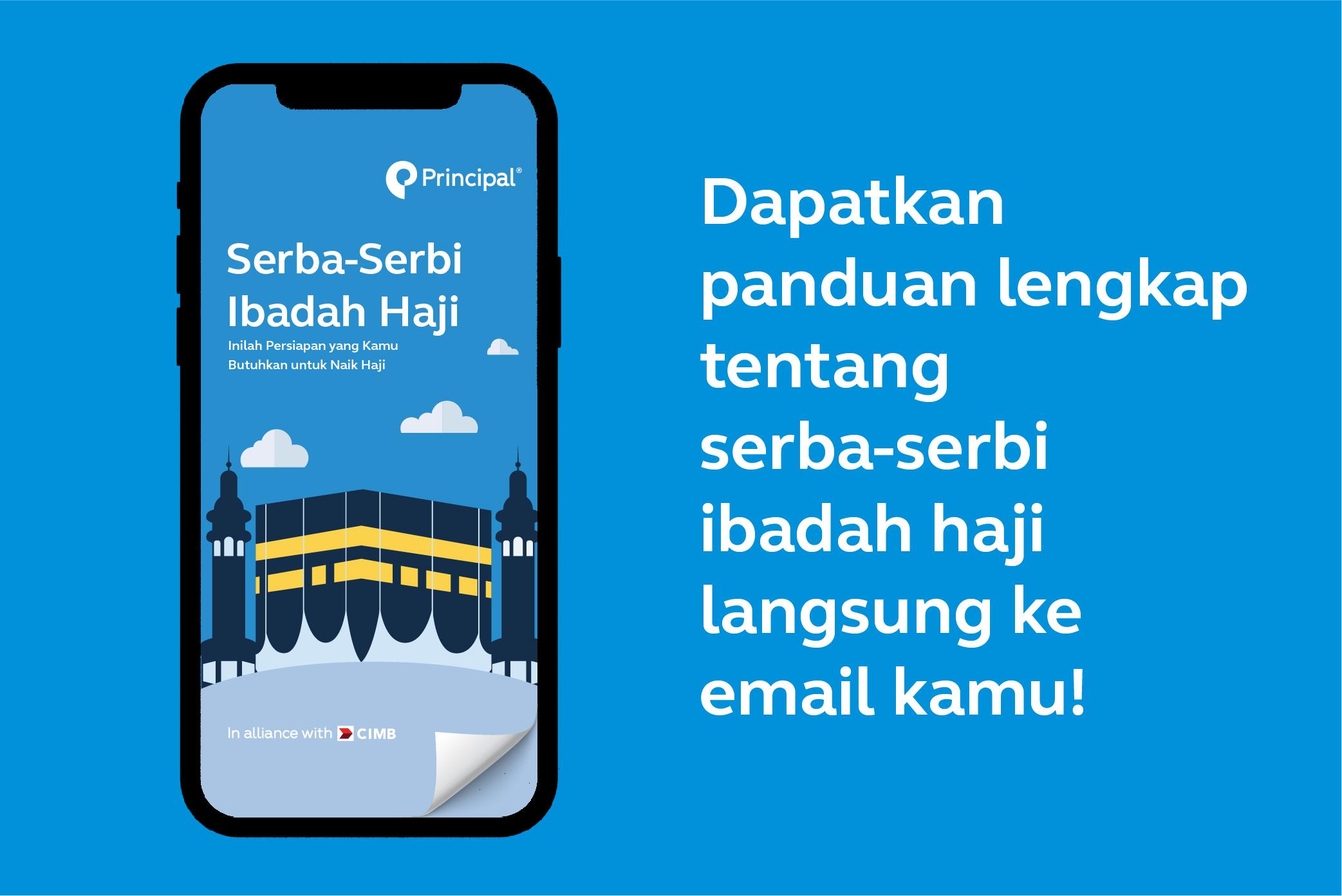 Dapatkan informasi haji terkini langsung ke email kamu.